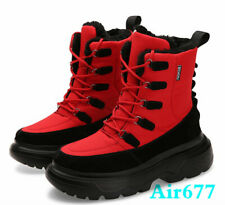 New Mens Army Military waterproof Winter Warm Ankle boots Shoes Outdoor Sneakers