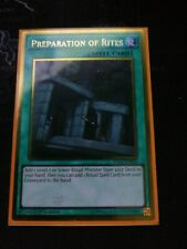 Preparation Of Rites PGL2-EN054 Gold Rare Mint 1st Edition Yugioh Card
