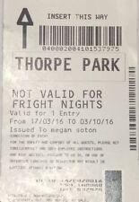 October London Theme Park Tickets