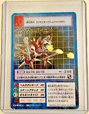 Digimon INFERMON Vintage JAPANESE Digital Monster ULTIMATE 2001 BANDAI Rare MINT