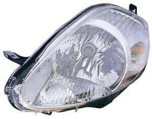 FIAT GRANDE PUNTO 2008 - 2010 HEADLAMP HEAD LIGHT LEFT PASSENGER SIDE 51840998