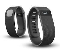NEW Fitbit Charge Wireless Fitness Tracker + Sleep Wristband,Black - L(in bulk)