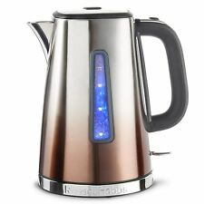 Russell Hobbs Polished Eclipse Ombre Electric Jug Kettle 1.7L Fast Copper Sunset