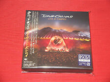 2020 DAVID GILMOUR Live At Pompeii  JAPAN MINI LP 2 Blu-spec CD