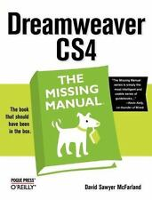 Dreamweaver CS4 by David Sawyer McFarland (2008, Paperback)