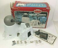 1982 Kenner Star Wars Micro Collection Hoth Ion Cannon Missing Leia Only
