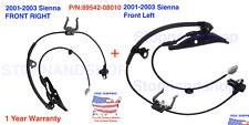 New ABS Wheel Speed Sensor fits 2001-2003 Toyota Sienna Front Left & Right Set