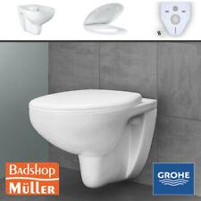 Grohe Bau Keramik Wand WC Set Spülrandlos m. WC Sitz Toilette Rimfree 39427000