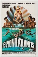 BEYOND ATLANTIS -1973- original 27x41 movie poster- SID HAIG - Fish-Eyed Natives