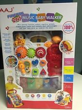 AAJ First Steps Baby Music Walker