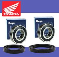 Honda QA50 Front Wheel Bearing and Seal Kit 1971-1975