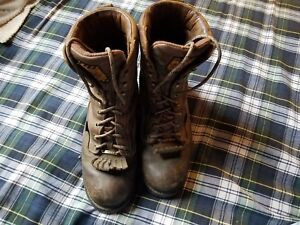 JUSTIN GORE-TEX WATERPROOF LOGGER BOOTS SIZE 10