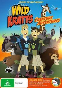 Wild Kratts - Creature Adventures DVD LIKE NEW 💥💥