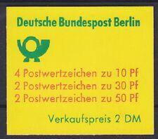 Berlin MH 10 II a ** Markenheftchen, postfrisch, MNH