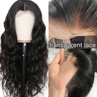 Body Wave Virgin Human Hair 13x4 13x6 Transparent Lace Front Wig 150% 180% DHL