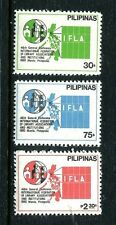 Philippines 1473-1475,MNH.Michel 1363-1365. Federation of Library Associations.