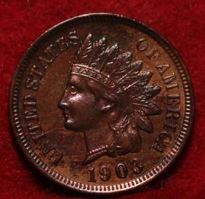 Uncirculated 1903  Philadelphia Mint  Indian Head Cent