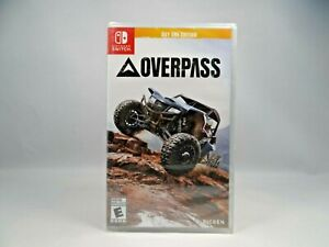 Nintendo Switch - OVERPASS - Day One Edition (2020) Brand New Sealed - Racing
