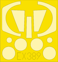 EX389 Nesher/Dagger 1/48 Eduard For kit: ITALERI
