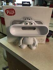 Beats Pill Dude Holder Character White Pill Box Speaker Stand Holder Only W/ Box