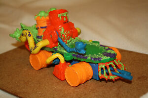 Toxic Crusader vehicle Playmates brand in good condition, one accessory missing,