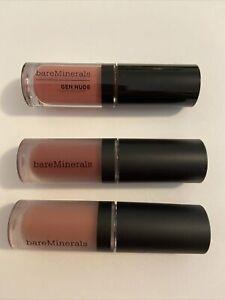 Bare Minerals Nude Matte Liquid Lip colour in BOSS, Swank, Gen Nude Everything