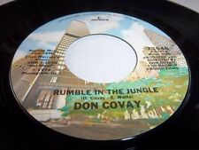 DON COVAY-RUMBLE IN THE JUNGLE/WE CAN'T MAKE IT NO MORE MERCURY 73648 NM 45