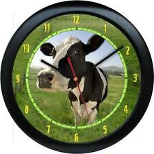 Dairy Cow Personalized Farm Animal Print Gift Wall Clock