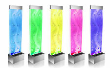 Orion Bubble Water Feature Wall 1.83m W Colour Changing Lights Indoor Fountain