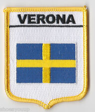 VERONA CREST FLAG ITALY WORLD EMBROIDERED PATCH BADGE