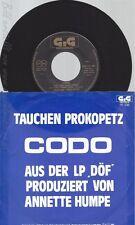 """7"""" TAUCHEN PROKOPETZ-- CODO--DÖF"""