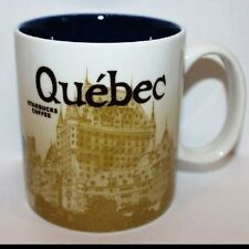 Starbucks Mug Quebec  Global Icon Series Collector NEW. Hard To Find!