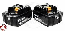NEW Makita BL1850B-2 5.0 AH 18V 18 Volt LED FEUL GAUGE GENUINE Batteries