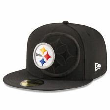 NFL Pittsburgh Steelers Men's New Era Sideline Official Fitted Flatbill Hat
