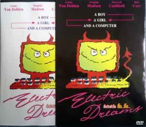 Electric Dreams (1984) DVD R0 PAL - Virginia Madsen, Classic 80'S Pop Comedy