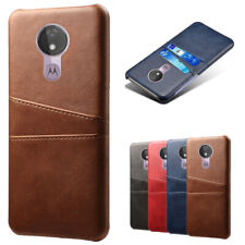 For Motorola Moto G7/G7 Plus Luxury PU Leather Wallet Card Slot Back Cover Case