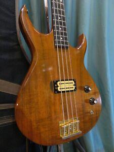 c.1983 Carvin LB-40 Bass, Koa! Light Weight! Ready to Play!