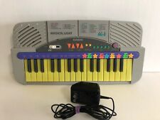Vintage 1994 Casio ML-2 Magical Light Electronic Musical Piano Keyboard Portable