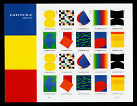 SCOTT #5382-5391 ARTIST ELLSWORTH KELLY FOREVER STAMPS 2019 PANE OF 20 MNH