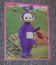 ade1f68447a0 TELETUBBIES WOOD FRAME TRAY WOODEN PUZZLE PLAYSKOOL TINKY WINKY   HANDBAG  PURSE