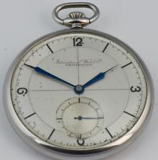 One of a kind antique pilot's award IWC Schaffhausen  CHRONOMETER enamel watch