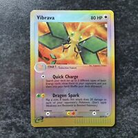 Vibrava 22/97 Reverse Holo EX Dragon Pokemon Card Near Mint Condition
