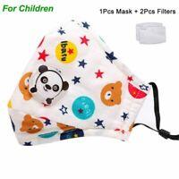 Mascarilla para niños con filtro PM 2.5 |FREE SHIPPING| Reusable | Ajustable