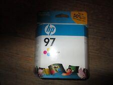 New Genuine HP 97 C9363WN Tri-Color Ink Cartridge - Sealed Carton - 2010 Exp