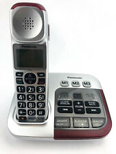 PANASONIC Amplified Cordless Phone with Digital Answering Machine