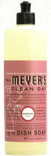 Clean Day Liquid Dish Soap, Mrs. Meyer's, 16 oz Geranium