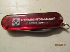 McNaughton-McKay Electric Co Pocket Knife Made in China