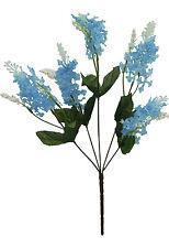 Lilacs x 5 Bouquet ~ MANY COLORS  Centerpieces Bridal Silk Wedding Flowers Decor