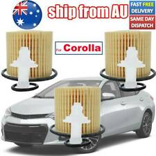 3x Oil Filter For Toyota Corolla 2006-18 2ZR-FE/FBE/FXE 1798cc 1.8L 4cyl Petrol