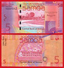 WESTERN SAMOA 5 Tala 2008 Pick 38a  SC /  UNC